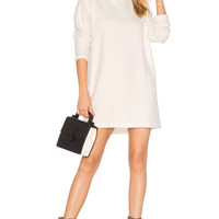 A Fine Line Dakota Dress in Cozy Cream Fleece