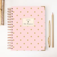 2018 Classic Planner – Dotted Pink