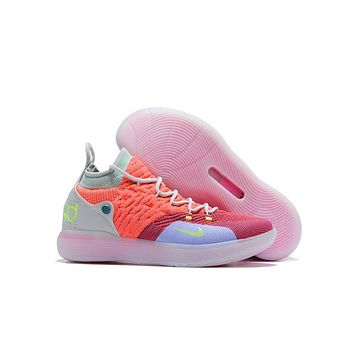 Kevin Durant KD 11 Mint Green Basketball Shoe