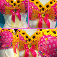 Sunflower Laceup Doll