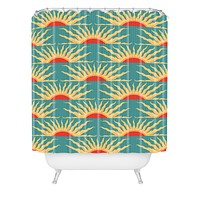 Belle13 Sunrise Shower Curtain