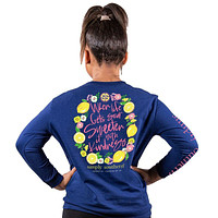 When Life Gets Sour Sweeten it With Kindness - SS - F20 - YOUTH Long Sleeve