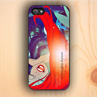 Dream colorful Ariel Quotes The Little Mermaid iPhone 5 Case