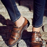 FP Collection Womens Out West Kilty Brogue