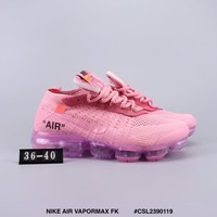 OFF WHITE x NIKE AIR VAPORMAX FK 2018 cheap Men's and women's nike shoes
