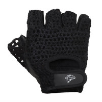 Weight Lifting Gloves with Mesh Back / Fitness Gloves with Leather Palms