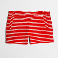 """Factory 5"""" printed stretch chino short - novelty - FactoryWomen's Shorts - J.Crew Factory"""