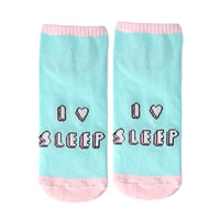 Love Sleep Ankle Socks