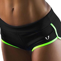 Women's Gym Shorts Workout Athletic Sports Shorts FIRM ABS Performance Running Yoga