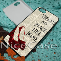 No Place Like Home The Wizard of Oz for iPhone 4 / 4S / 5 / 5c / 5s Case Samsung Galaxy S3 / S4 Case Cover