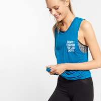 express one eleven squats muscle tank