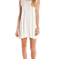 FULL SWING TANK DRESS - WHITE