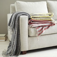 Printed Woven Throws
