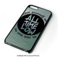 All Time Low Collage Design for iPhone and iPod Touch Case