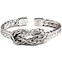 Sailor's Luck Cuff Bracelet in Silver by Kiel James Patrick