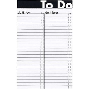 Ampad® To Do Notepad, 5 x 8