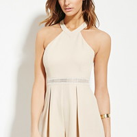 Contemporary High-Neck Romper
