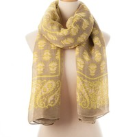 Citron Multi Biloxi Tie All Scarf - Scarves - Shop | Theodora & Callum