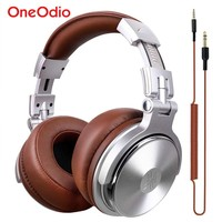 Oneodio Professional Studio Dynamic Stereo DJ Headphones With Microphone HIFI Monitoring For Music