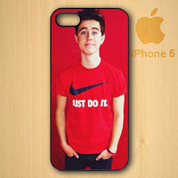 DellOK design Nash Grier Just Do it for iPhone, iPod and Samsung Galaxy S Cases