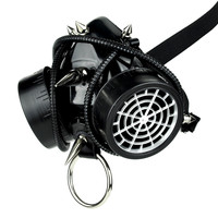 Cyber Respirator Gas Mask with O Ring and Tubes