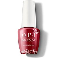 OPI GelColor - A Kiss On The Chic 0.5 oz - #HPL05