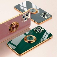 iPhone Case  with Luxury Ring Stand Free Shipping