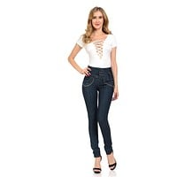 Pasion Women's Jeans - Push Up - Skinny - Style G230