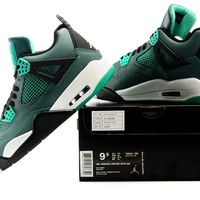 Air Jordan 4 Retro 30TH GG Teal Sneaker Shoes US size 8-12