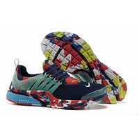 """Nike Air Presto"" Men Sport Casual Multicolor Camouflage Breathable Sneakers Running Shoes"
