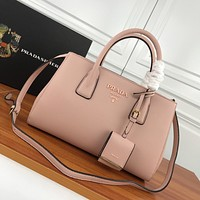 prada newest popular women leather handbag tote crossbody shoulder bag satchel 83