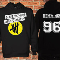 5sos Date of birth Ashton irwin 94,Clifford 95, hemmings 96,calum hood 96 Black Pullover Sweater Sweatshirt Hoodie