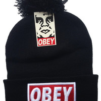 Obey beanies hats unisex for winter & summer.