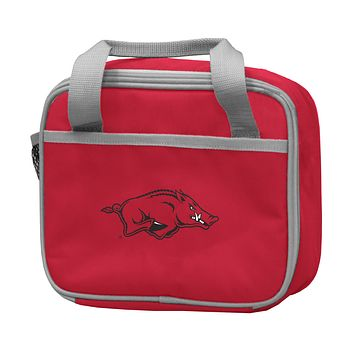 UNIVERSITY OF ARKANSAS CARDINAL LUNCH BOX F/ PRIMARY LOGO