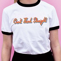 Can't Think Straight Pride Ringer Tee