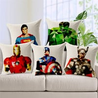 Super Guys Pillow Case
