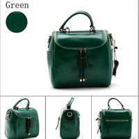 Handcrafted  Leather Camera Bag Women Bag 4 Colours