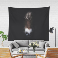 Wall Tapestry With Emotional Horse Portrait Photography Print, Wall Decor, Large Wall Art, Home Decor, Horse Lovers, Gifts For Her, Original