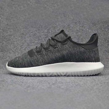 Adidas Originals Tubular Shadow Leisure Running Sports Shoes Black