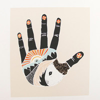 The Something Hand, art print 8x10