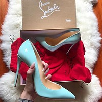 (SC)> Christian Louboutin cl 2021 Louboutin Fashion casual high heels
