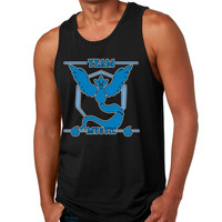 Men's Tank Top Team Mystic Blue Team Cool Top