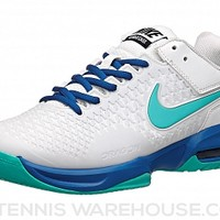 Nike Air Max Cage Ivory/Cobalt Women's Shoe