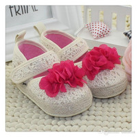 2015 Baby soft shoes Baby girls knitted flower Shoes Kids Princess Newborn Prewalker Babe Infant Shoes First Walker Shoes