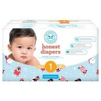 Honest Company Diapers Club Pack - Chilly Penguins (Select Size)