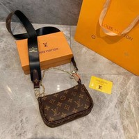 DCCK LV Louis Vuitton MONOGRAM CANVAS HANDBAG SHOULDER BAG