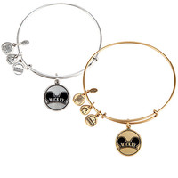 Mickey Mouse Cloisonne Charm Bangle by Alex and Ani | Disney Store
