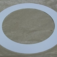 Trim Ring for 5in Aperture Downlight White -- New