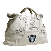 Oakland Raiders NFL Property Of Hoodie Tote