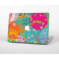 """The Vibrant Colored Sprouting Shapes Skin Set for the Apple MacBook Pro 13"""" with Retina Display"""
